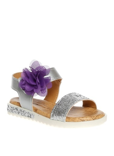 Pink Step Sandalet Gümüş